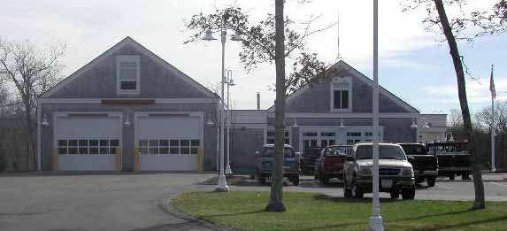 West Tisbury Fire Station